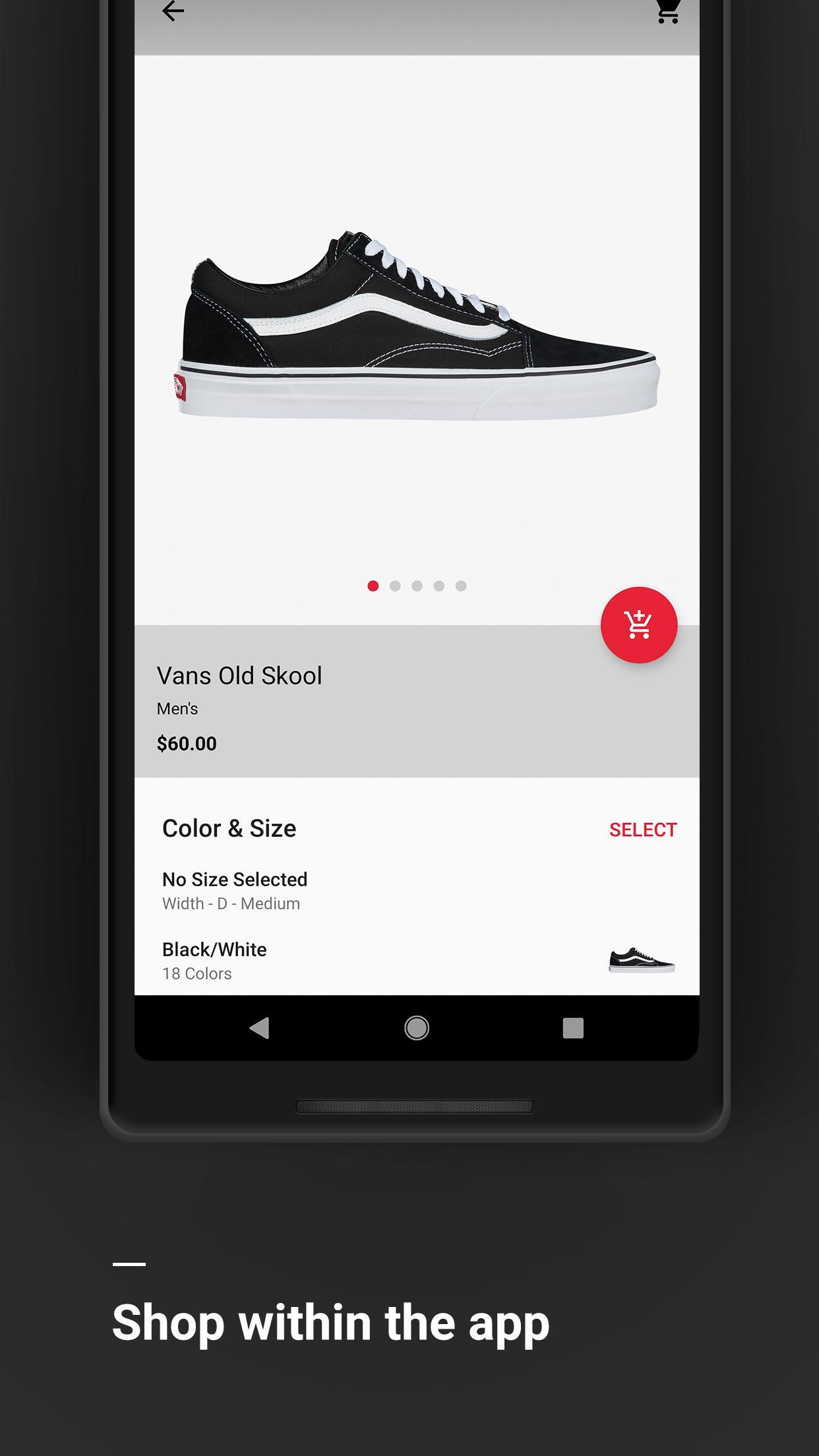 Foot Locker Sneakers, clothes & culture 3.8.8 Screenshot 3