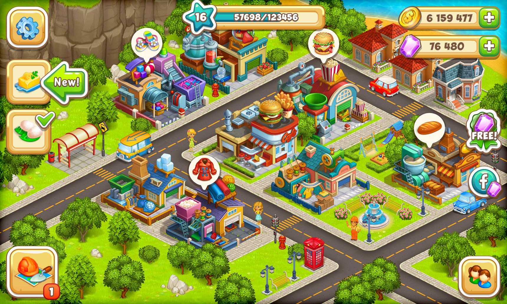 Cartoon City 2 Farm to Town.Build your home,house 1.78 Screenshot 8