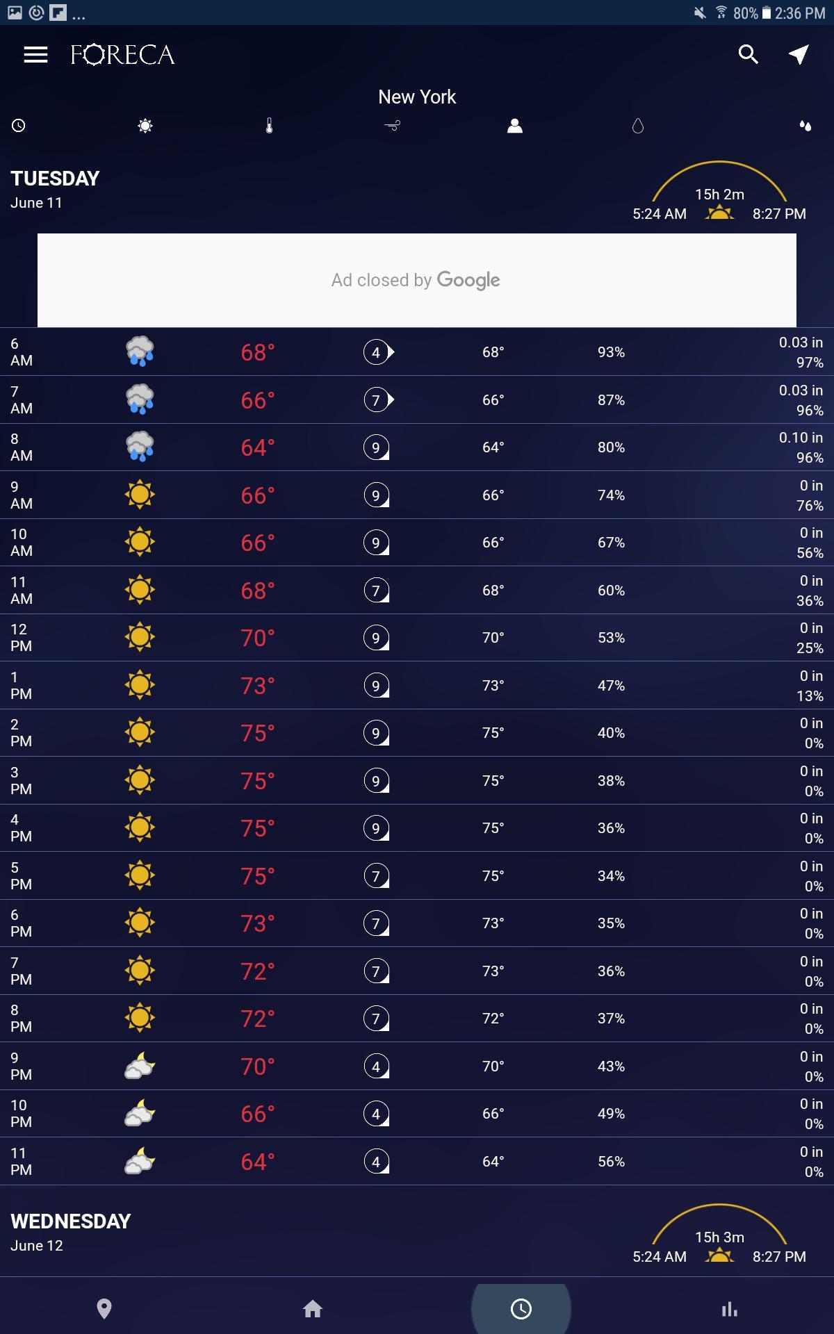 Foreca Weather 4.9.12 Screenshot 18