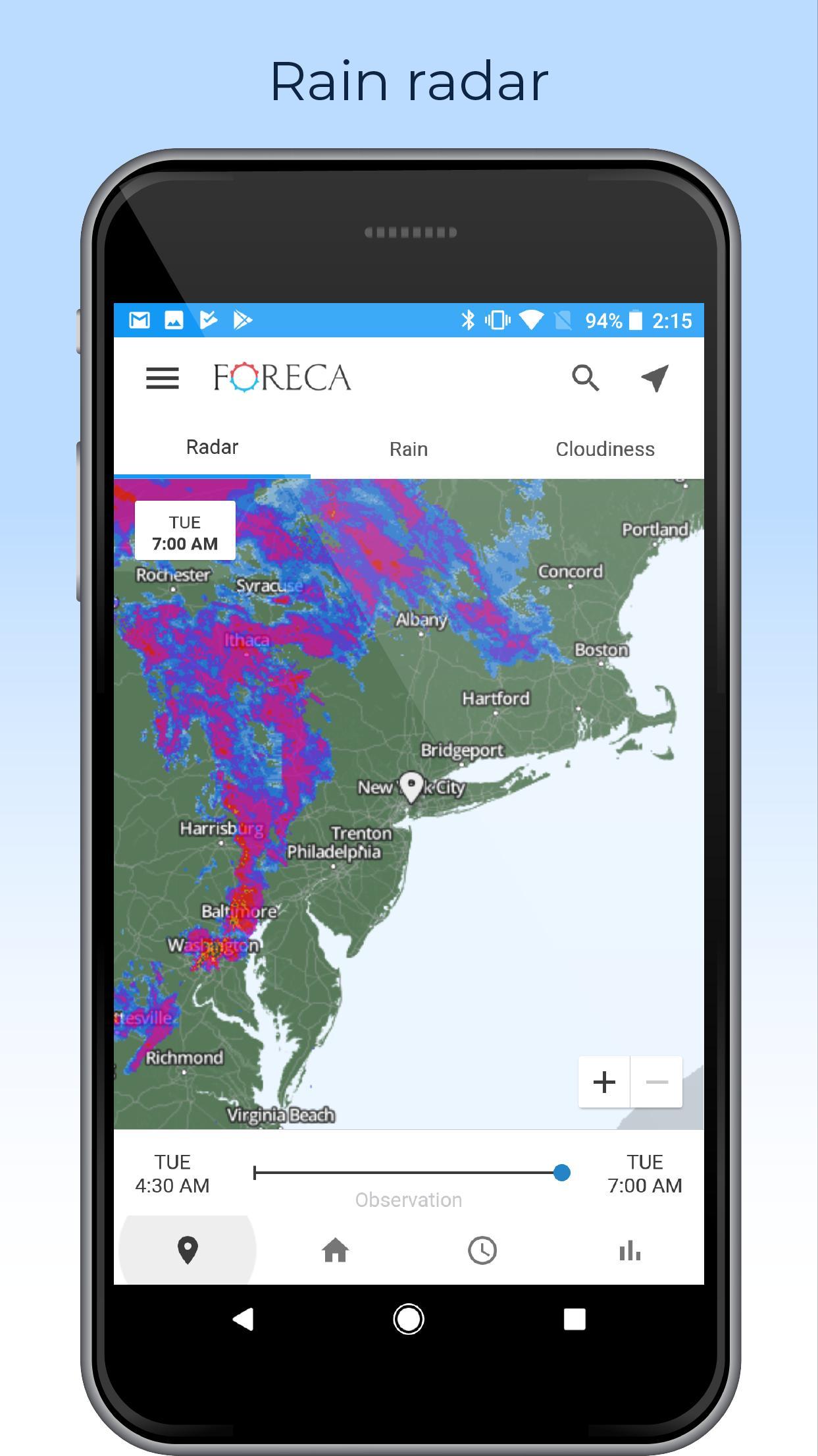 Foreca Weather 4.9.12 Screenshot 2