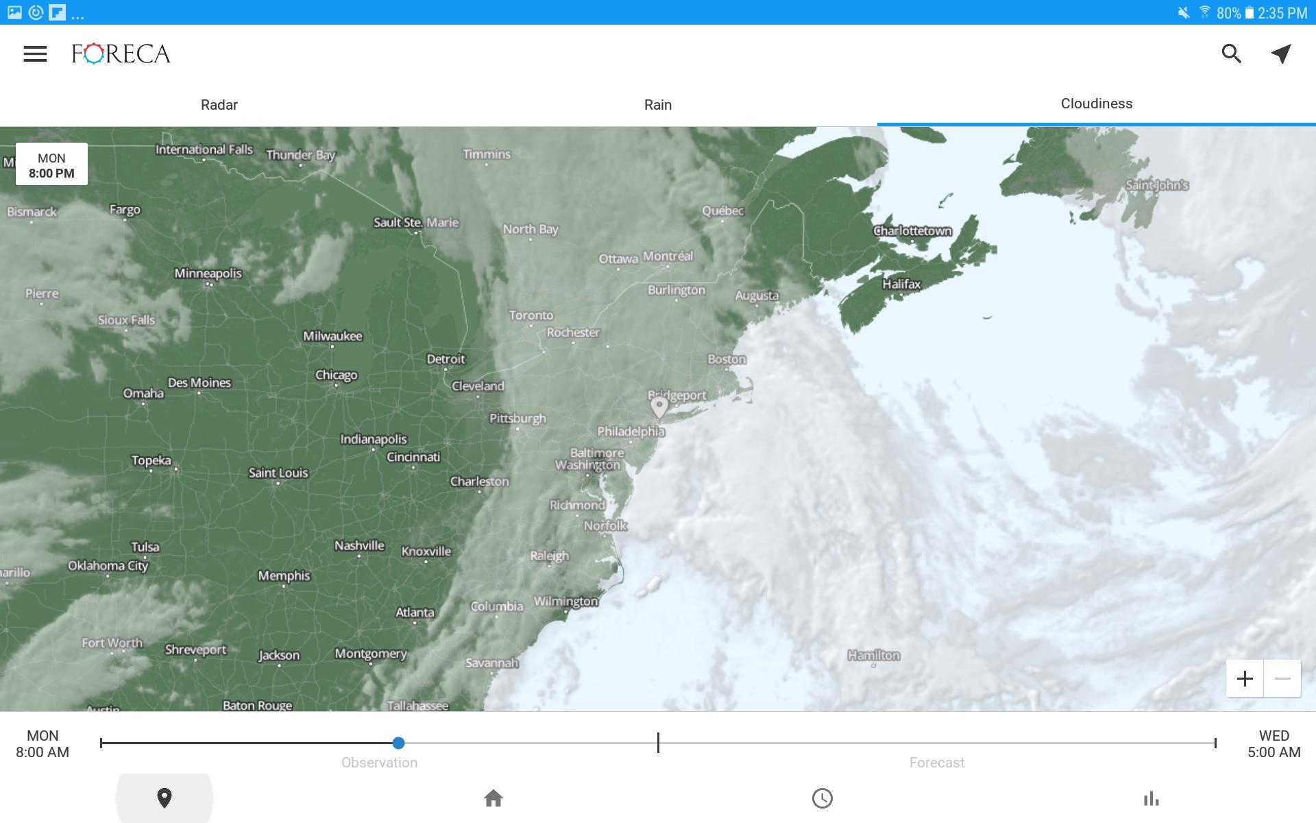 Foreca Weather 4.9.12 Screenshot 21