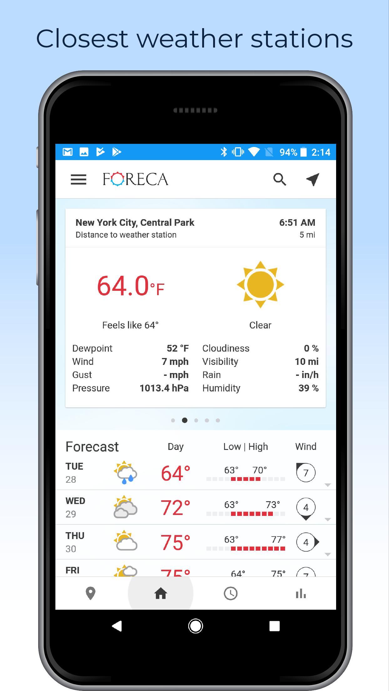 Foreca Weather 4.9.12 Screenshot 6