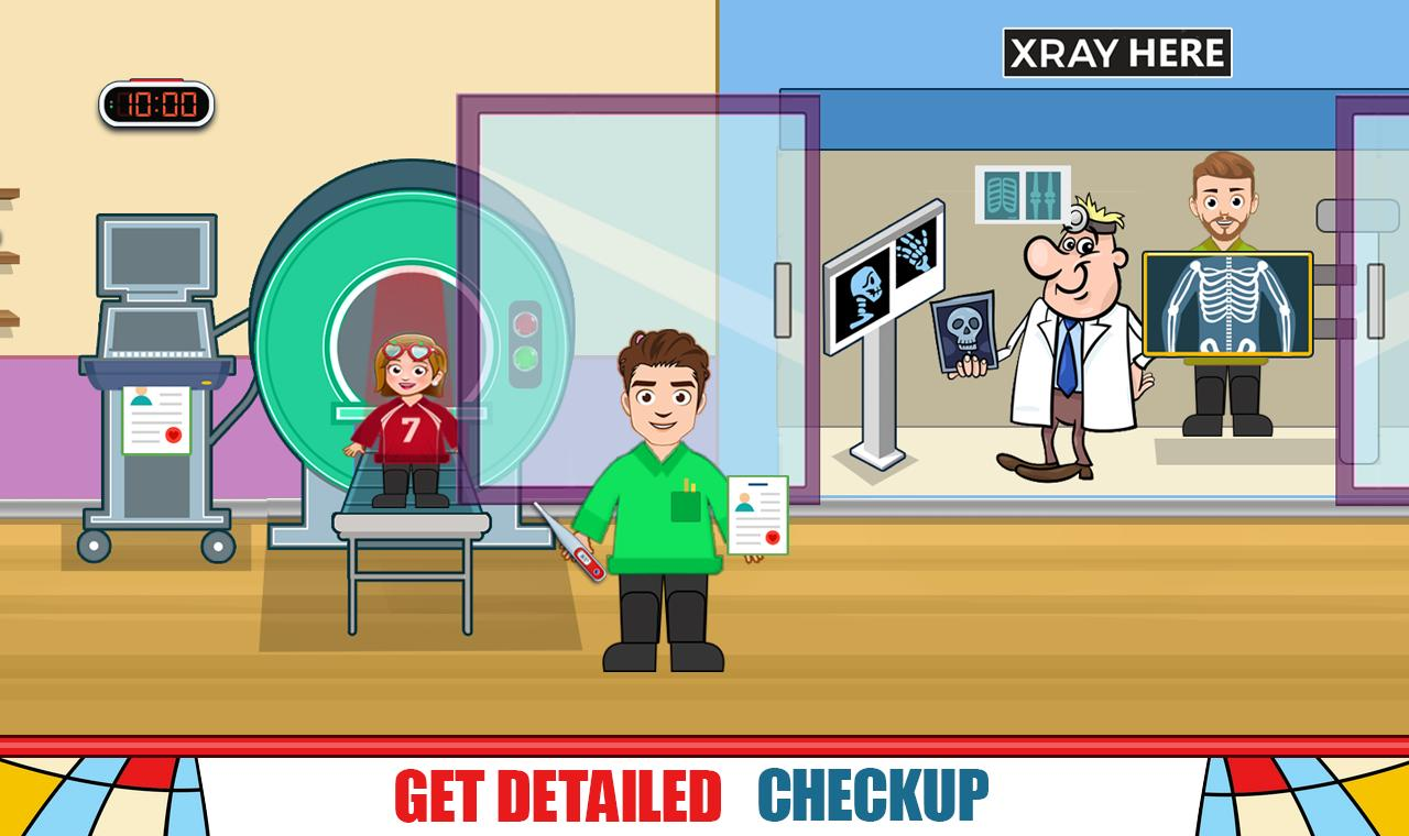 Pretend Hospital Doctor Care Games: My Town Life 1.0.7 Screenshot 17