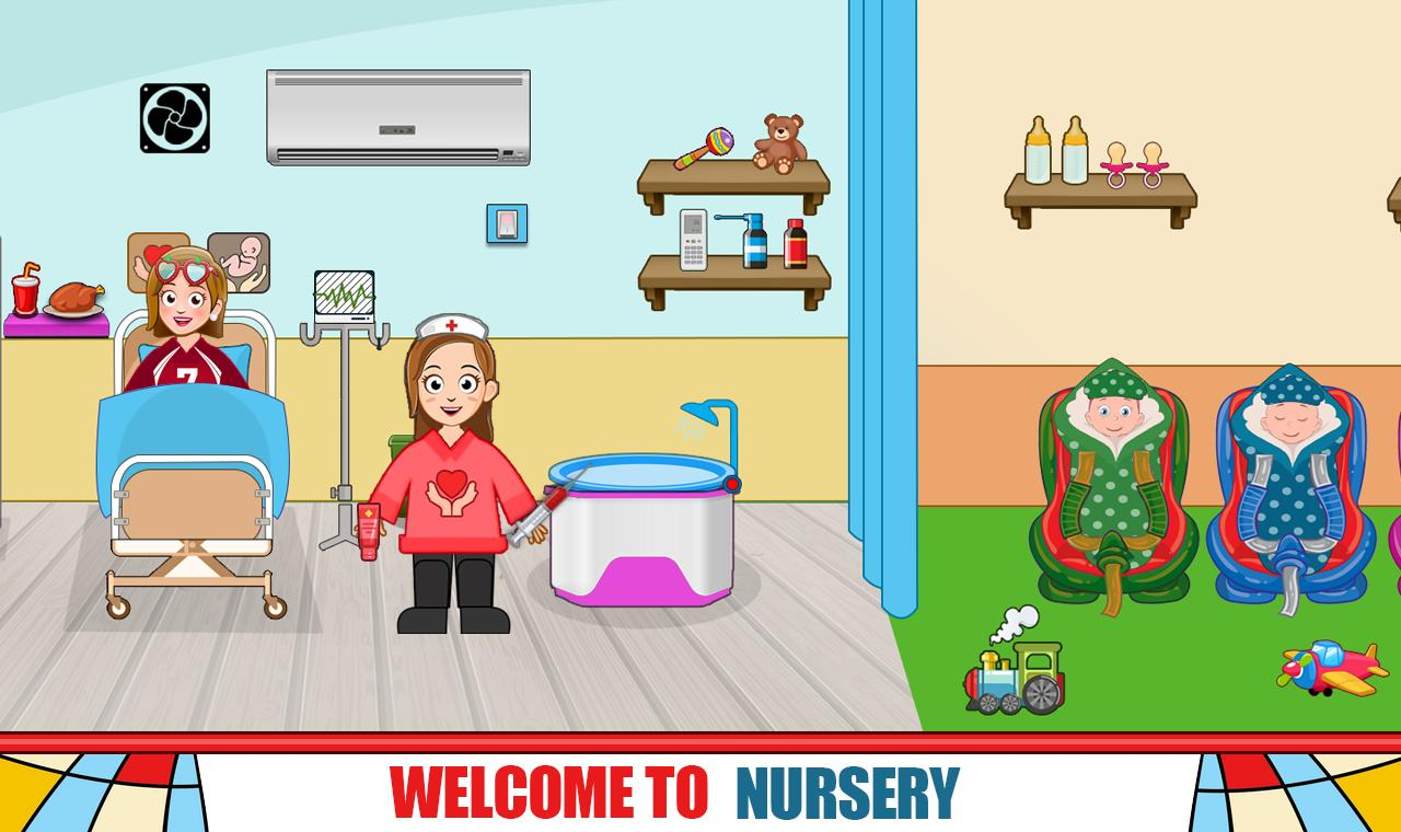 Pretend Hospital Doctor Care Games: My Town Life 1.0.7 Screenshot 2