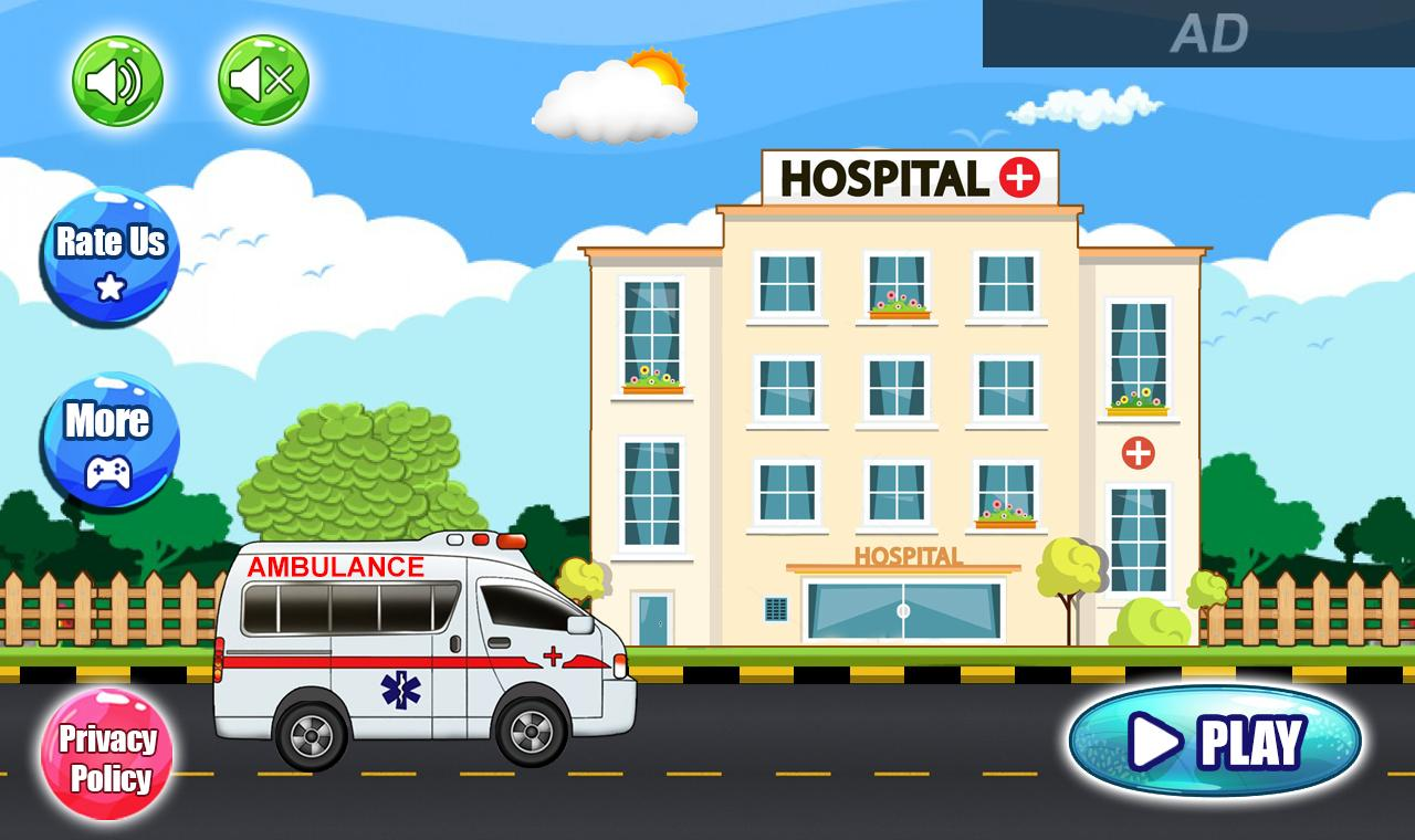 Pretend Hospital Doctor Care Games: My Town Life 1.0.7 Screenshot 4