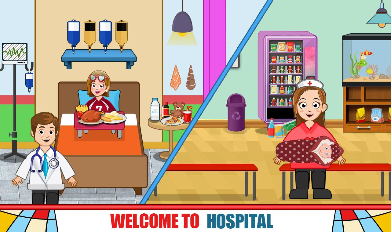 Pretend Hospital Doctor Care Games: My Town Life 1.0.7 Screenshot 6
