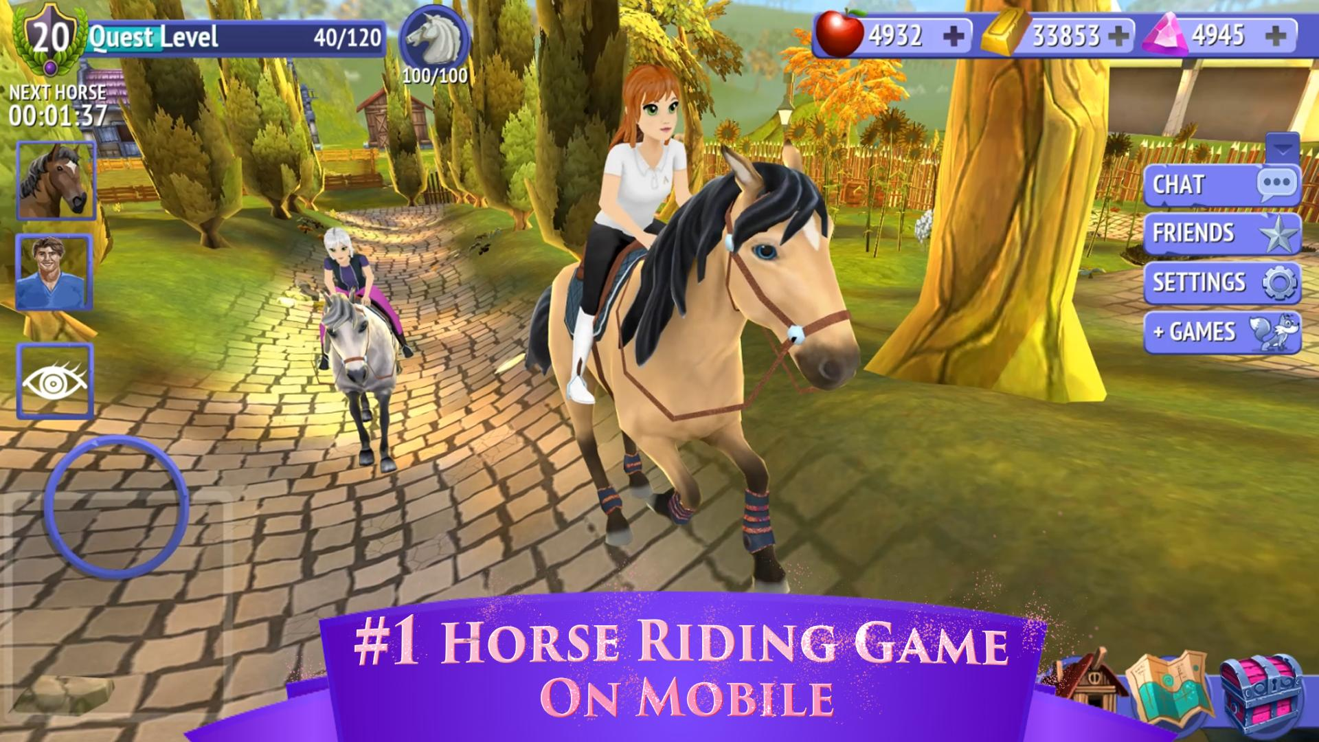 Horse Riding Tales - Ride With Friends 780 Screenshot 2