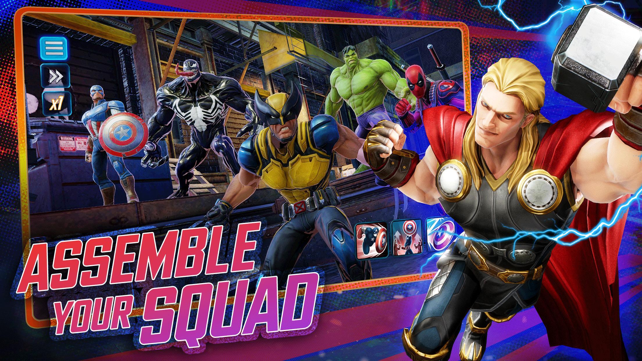 MARVEL Strike Force - Squad RPG 3.7.1 Screenshot 1