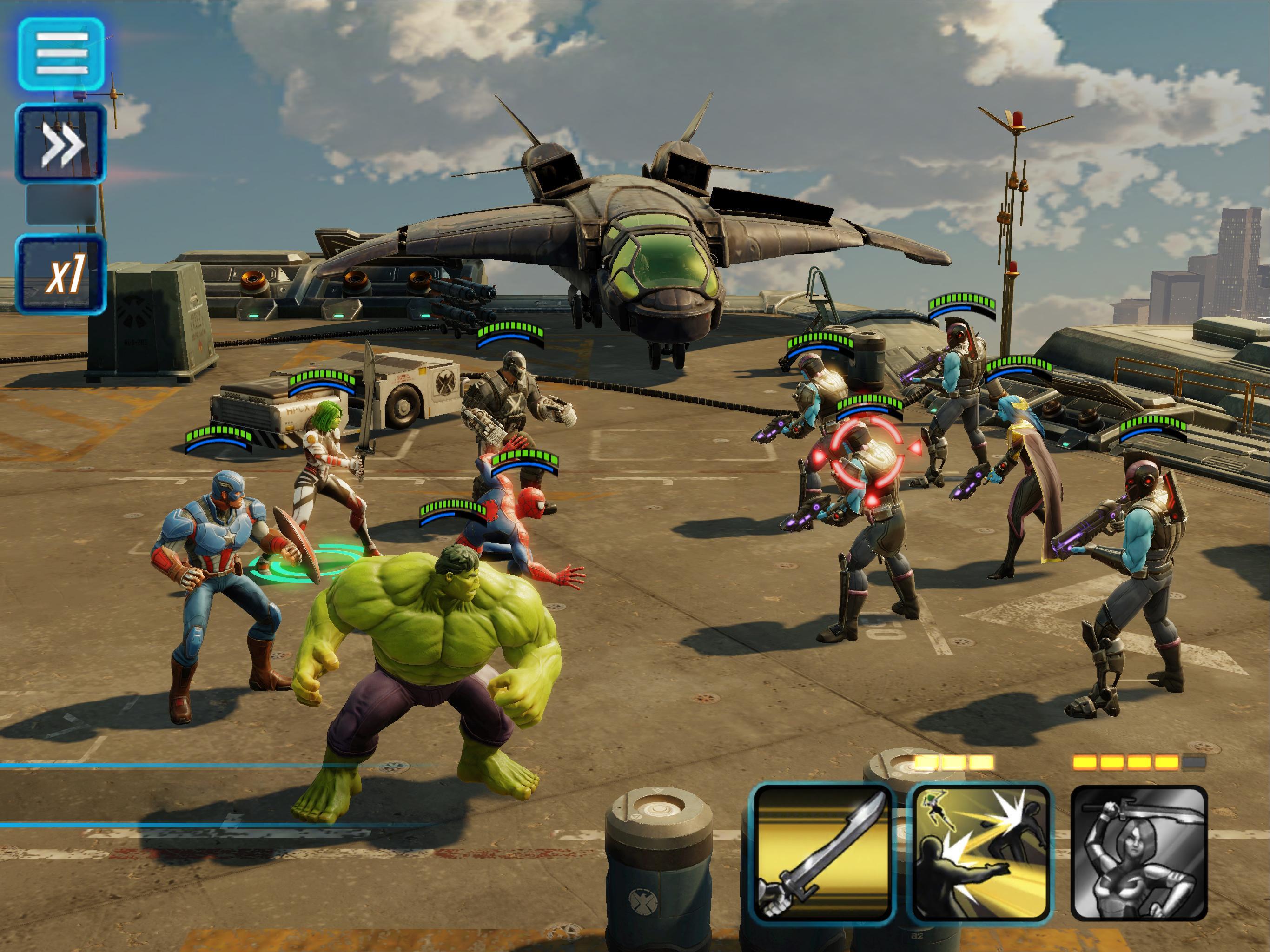 MARVEL Strike Force - Squad RPG 3.7.1 Screenshot 12