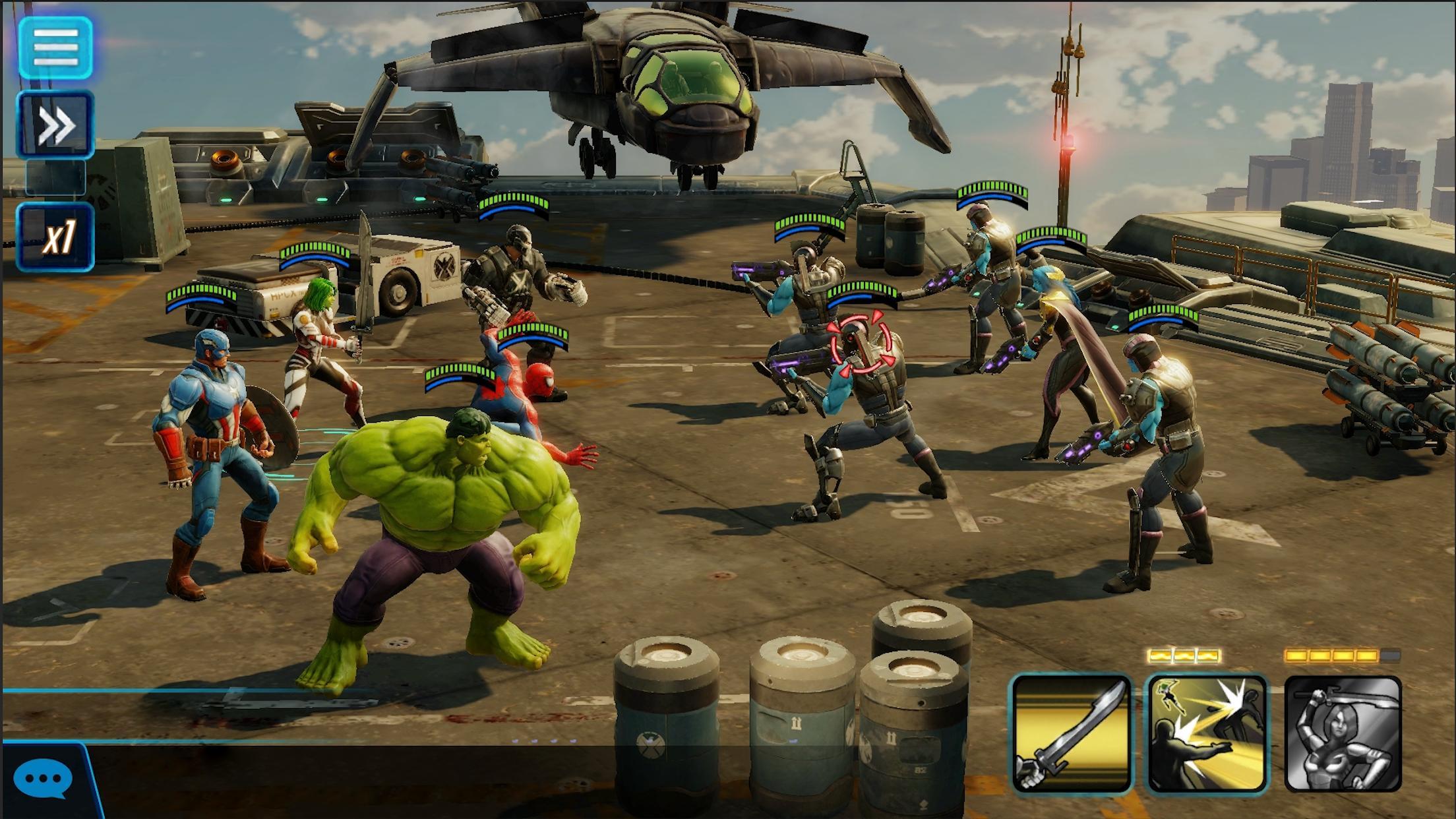 MARVEL Strike Force - Squad RPG 3.7.1 Screenshot 6