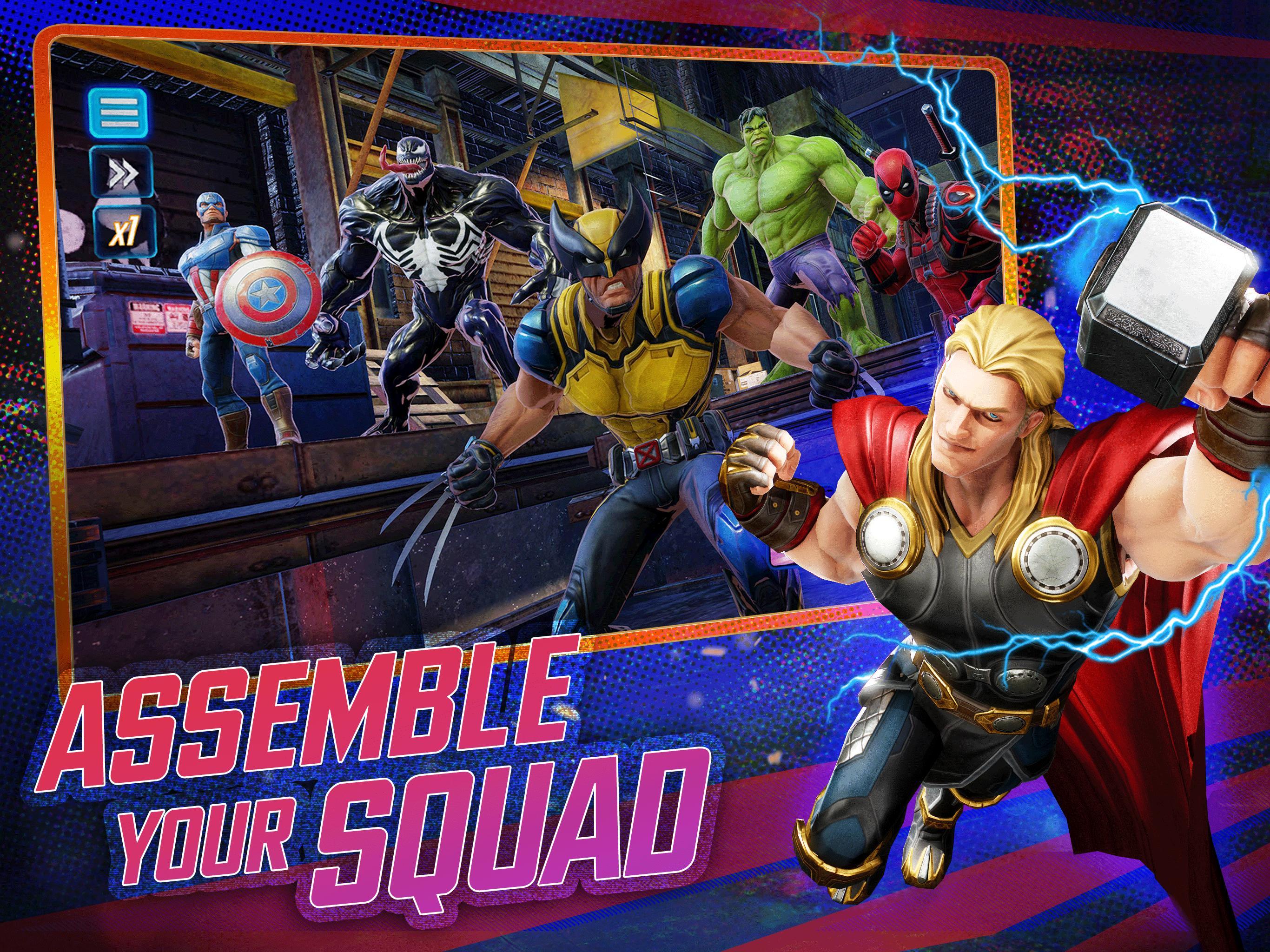 MARVEL Strike Force - Squad RPG 3.7.1 Screenshot 7