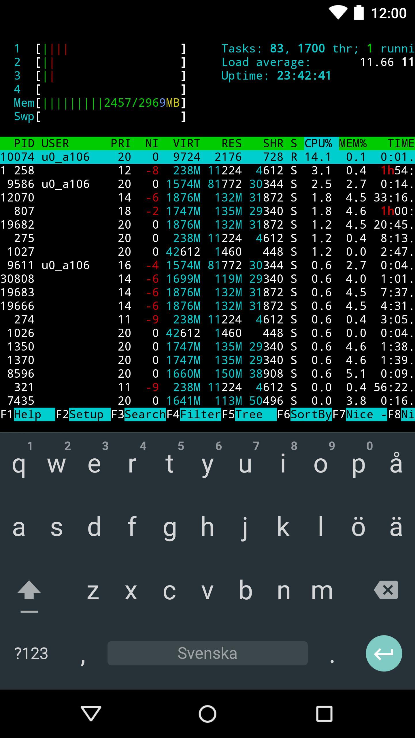 Termux 0.73 Screenshot 2