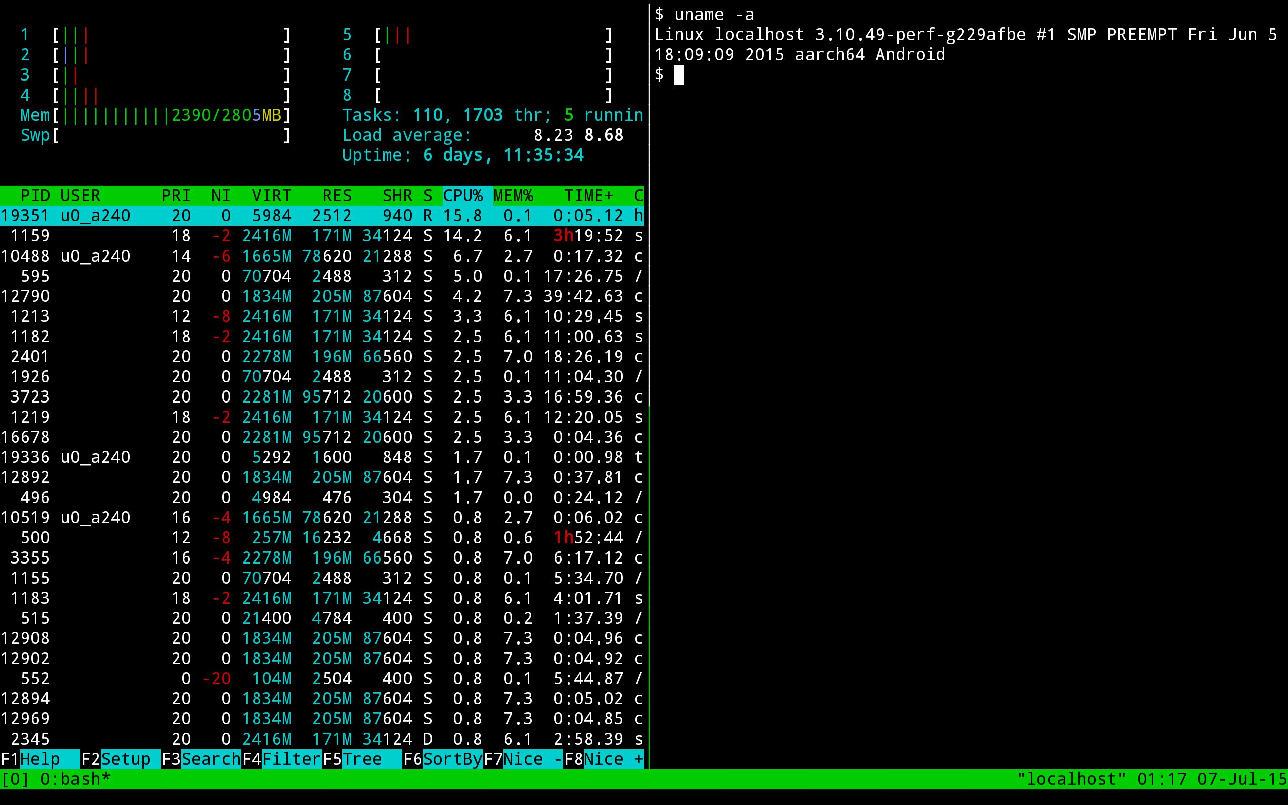 Termux 0.73 Screenshot 3