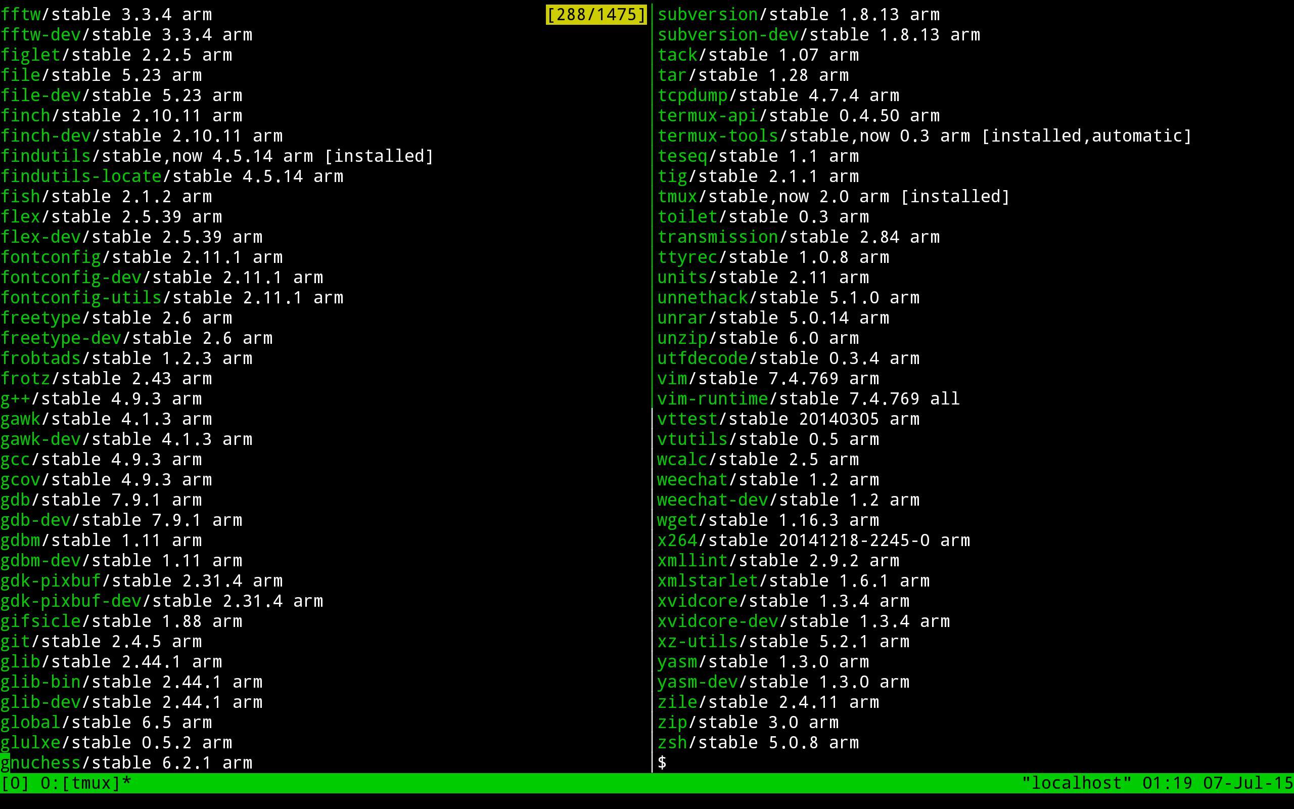 Termux 0.73 Screenshot 4