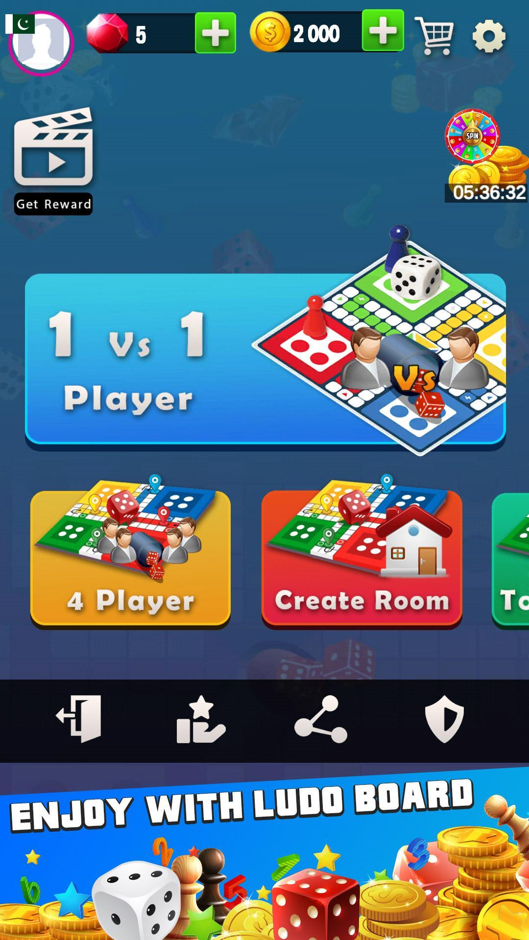 King of Ludo Dice Game with Free Voice Chat 2020 1.5.2 Screenshot 1