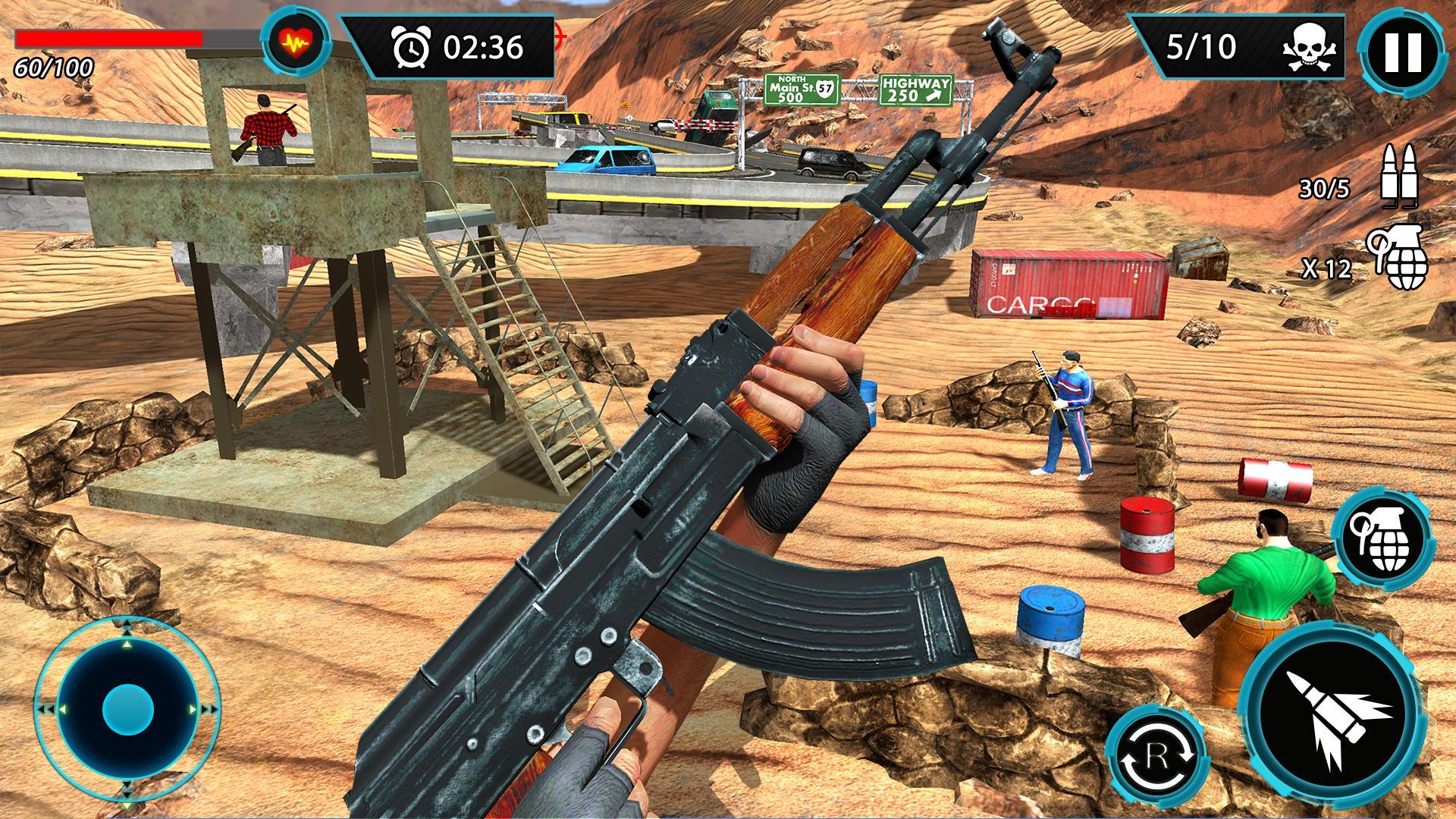 FPS Terrorist Secret Mission: Shooting Games 2020 1.3 Screenshot 11