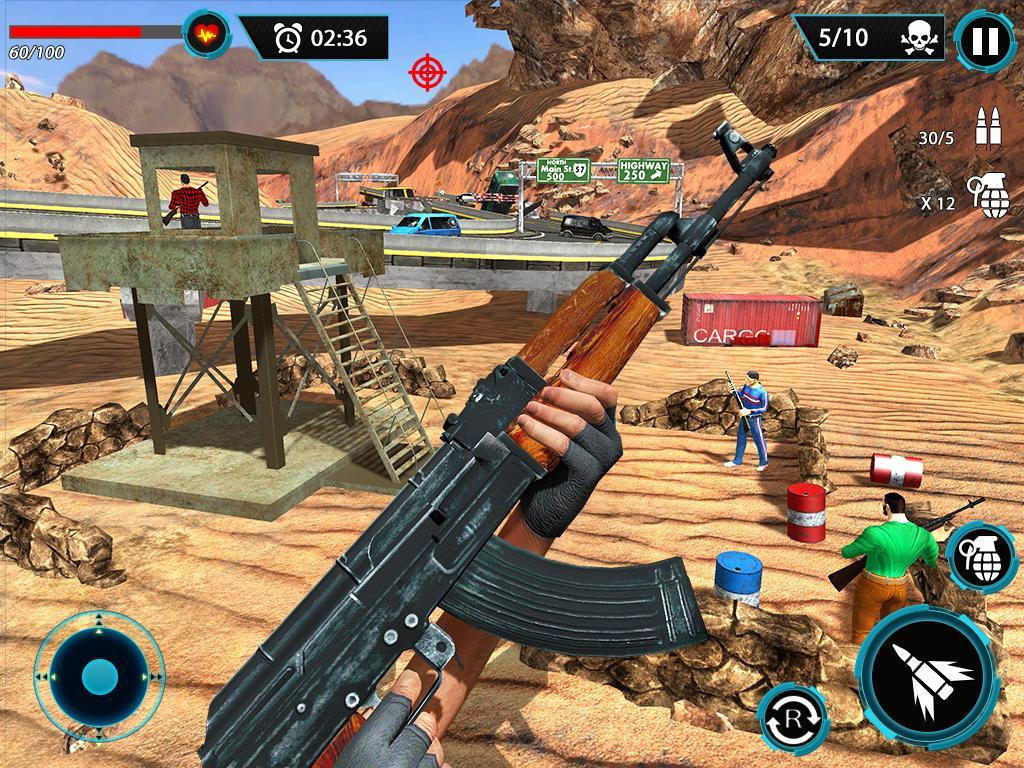 FPS Terrorist Secret Mission: Shooting Games 2020 1.3 Screenshot 19