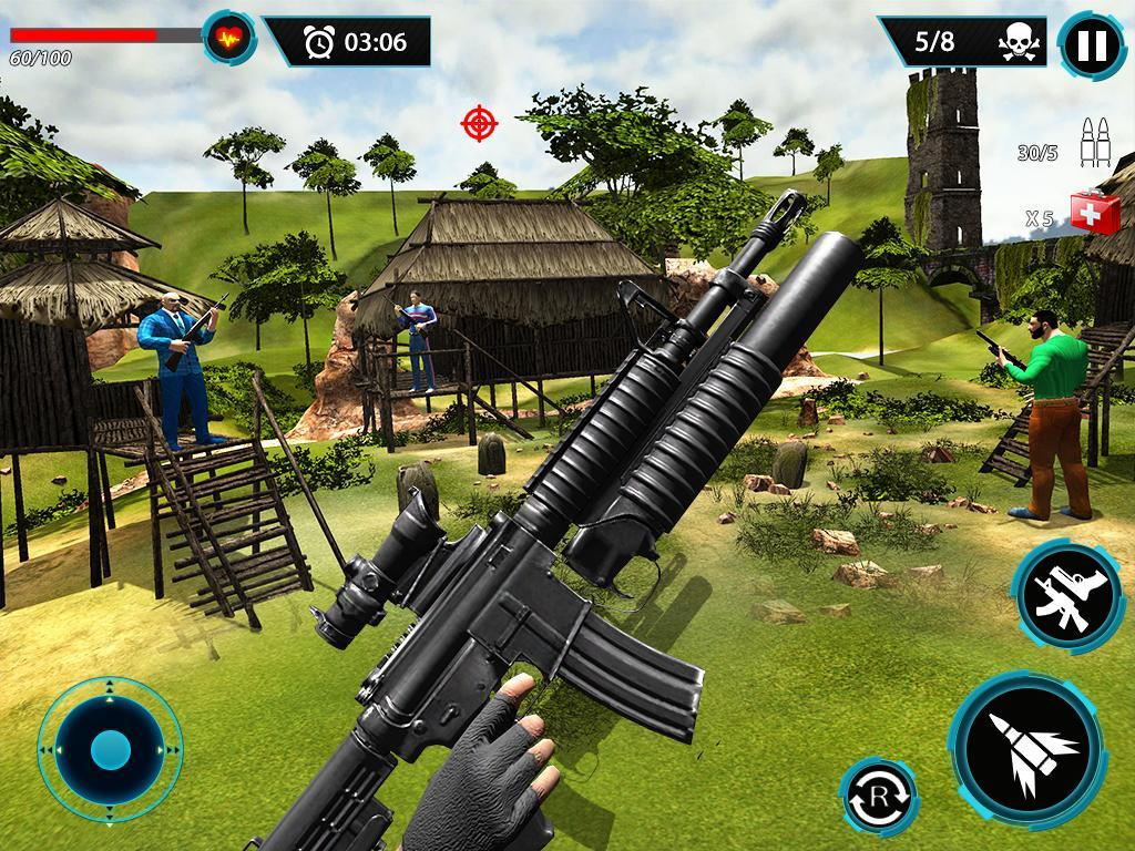 FPS Terrorist Secret Mission: Shooting Games 2020 1.3 Screenshot 22