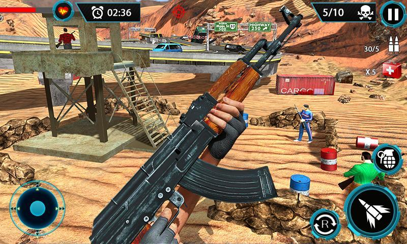 FPS Terrorist Secret Mission: Shooting Games 2020 1.3 Screenshot 3