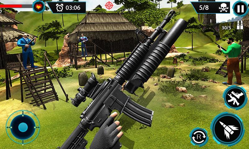 FPS Terrorist Secret Mission: Shooting Games 2020 1.3 Screenshot 6