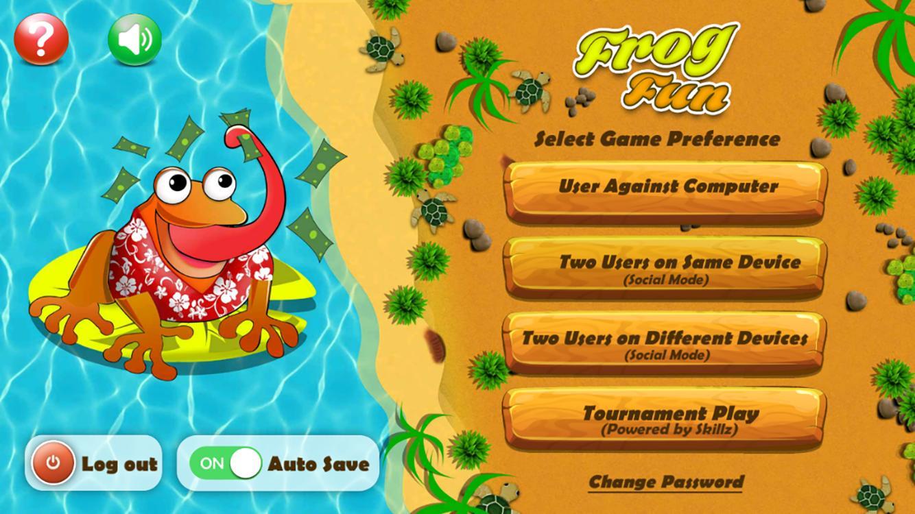 Frog Fun 1.21 Screenshot 1