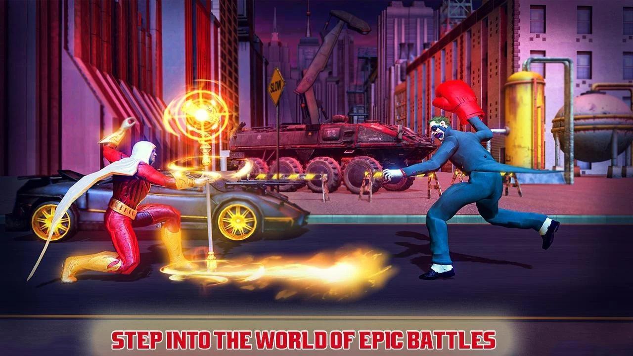 Real Superhero Kung Fu Fight Champion 3.33 Screenshot 2