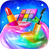 Make-up Slime - Girls Trendy Glitter Slime app icon