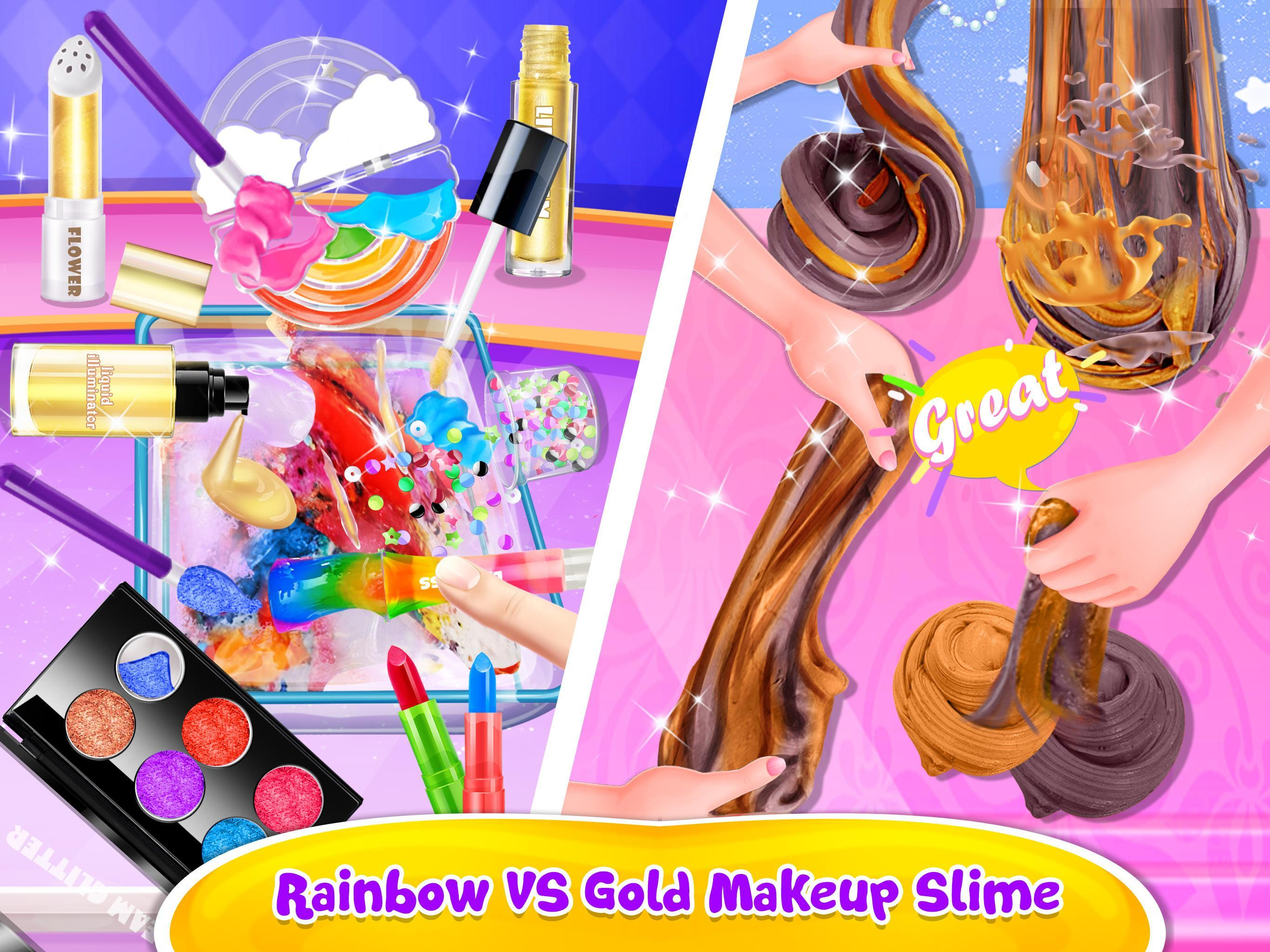 Make-up Slime - Girls Trendy Glitter Slime 1.8 Screenshot 14