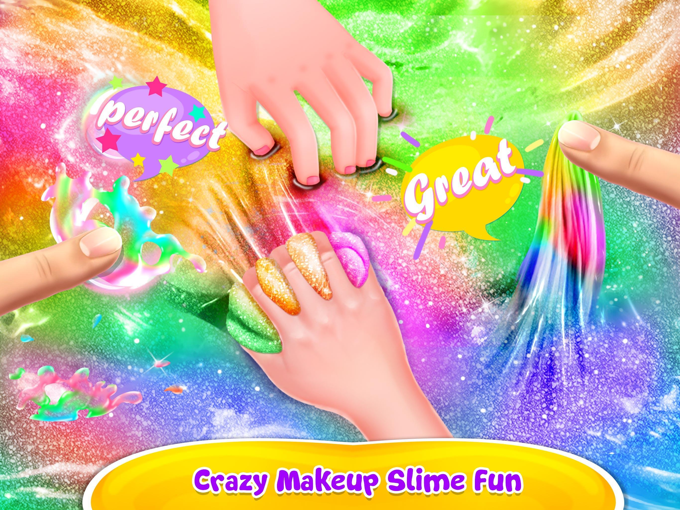 Make-up Slime - Girls Trendy Glitter Slime 1.8 Screenshot 3