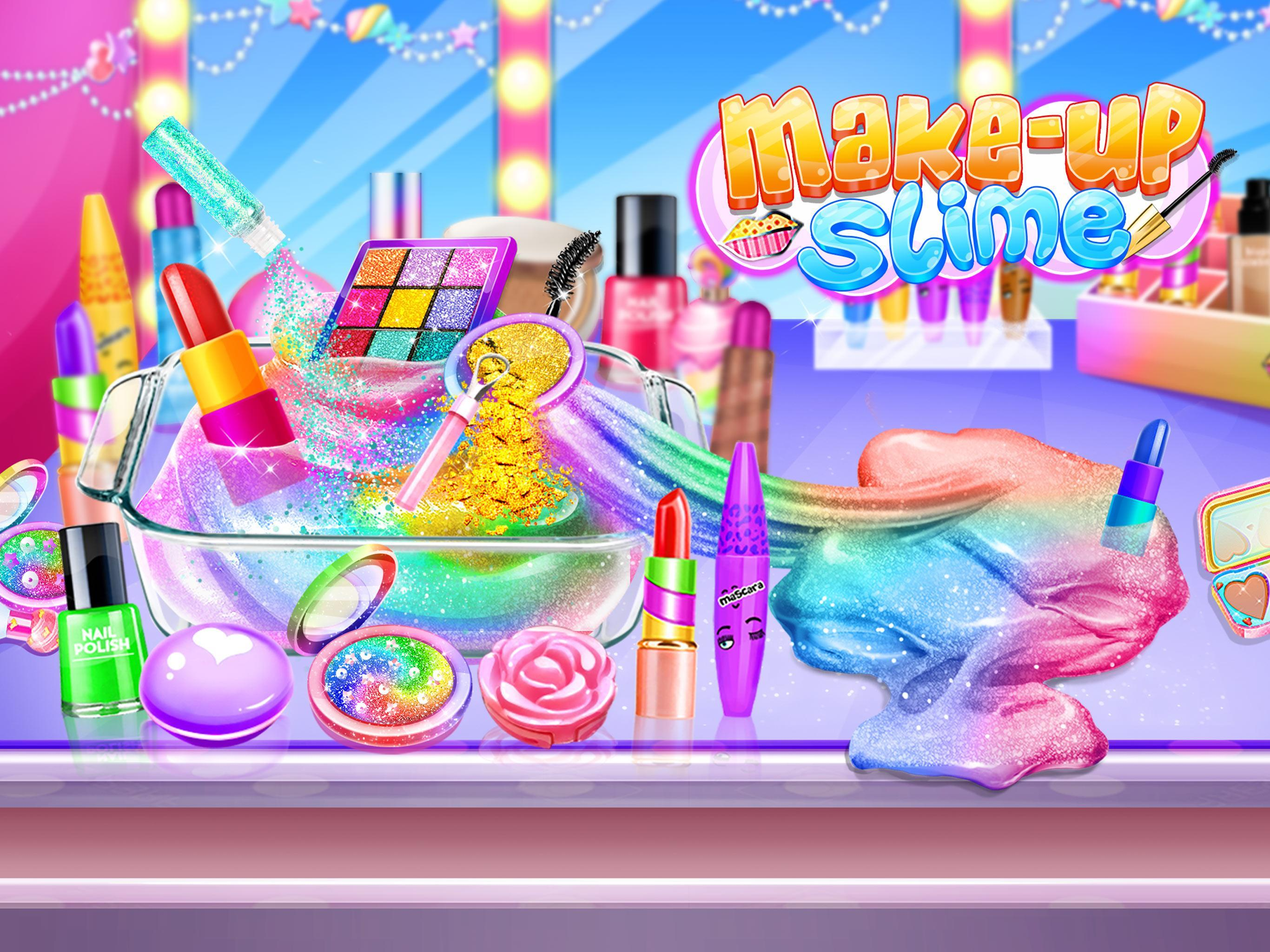 Make-up Slime - Girls Trendy Glitter Slime 1.8 Screenshot 4