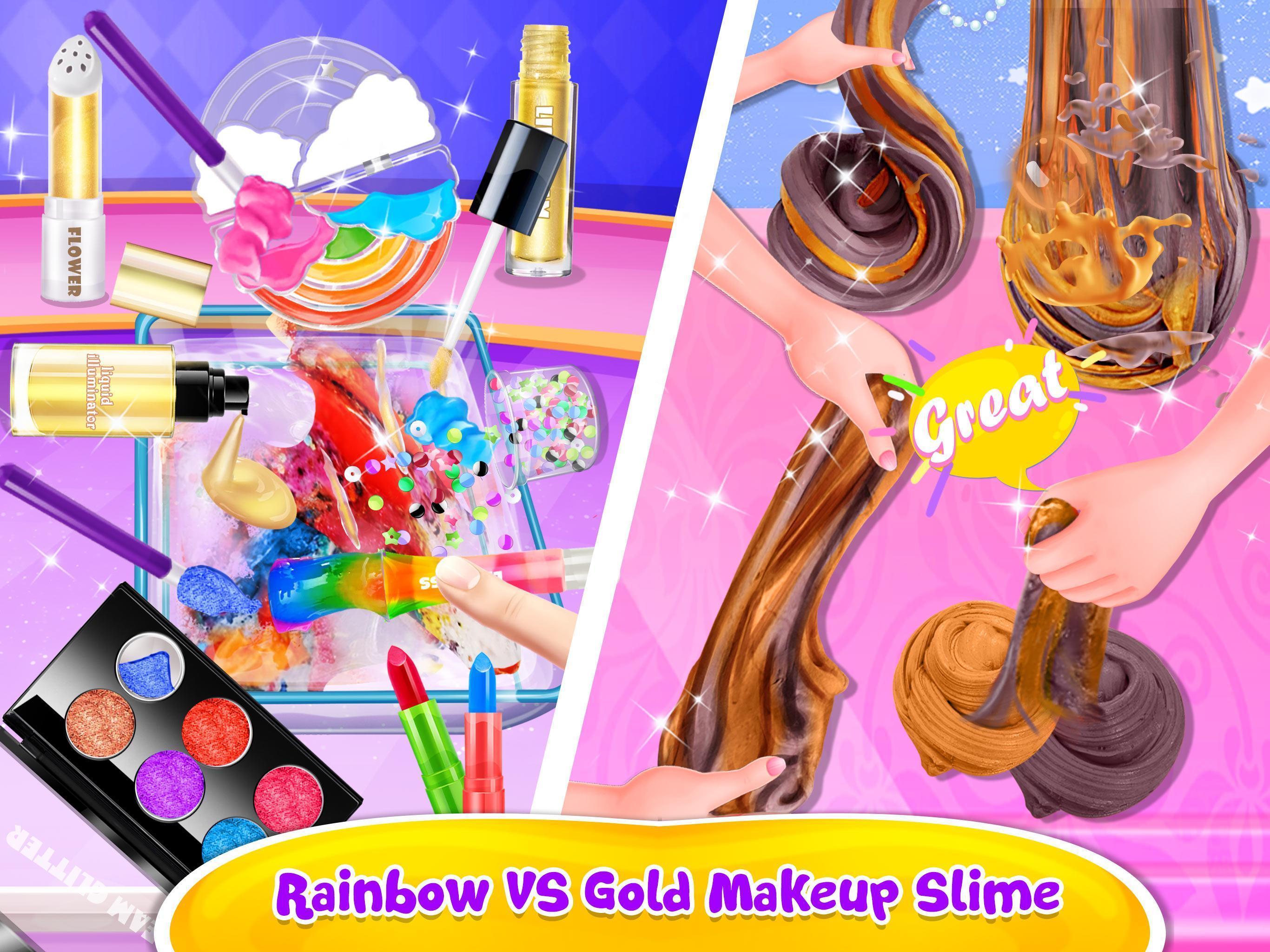 Make-up Slime - Girls Trendy Glitter Slime 1.8 Screenshot 7