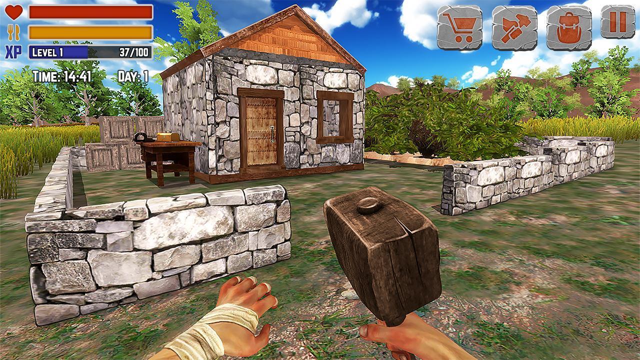 Island Is Home Survival Simulator Game 2.1 Screenshot 1