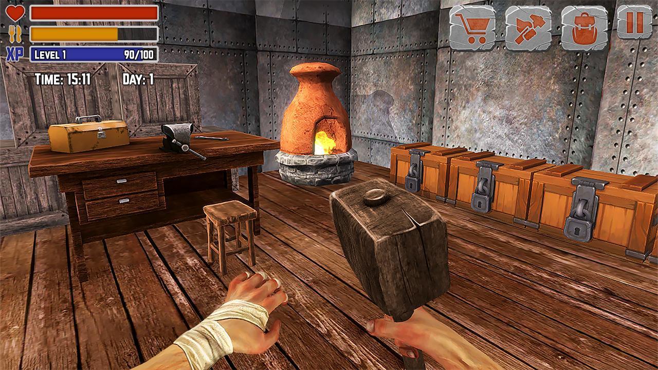 Island Is Home Survival Simulator Game 2.1 Screenshot 2