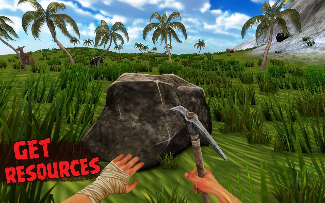 Island Is Home 2 Survival Simulator Game 1.2 Screenshot 1