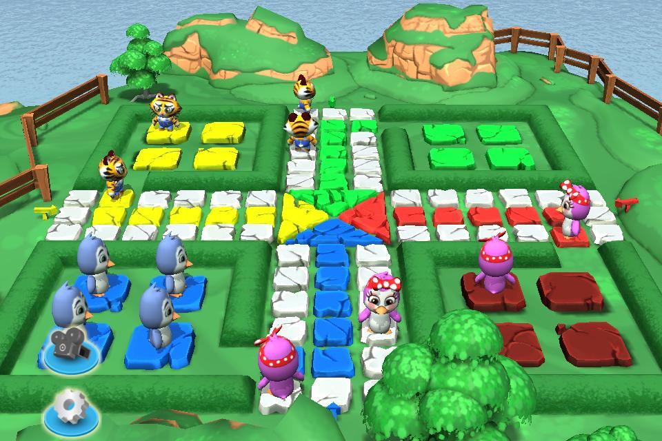 Ludo 3D Multiplayer 2.5 Screenshot 1