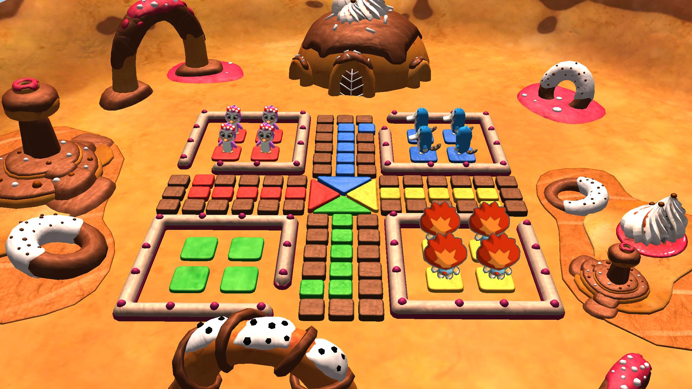 Ludo 3D Multiplayer 2.5 Screenshot 2