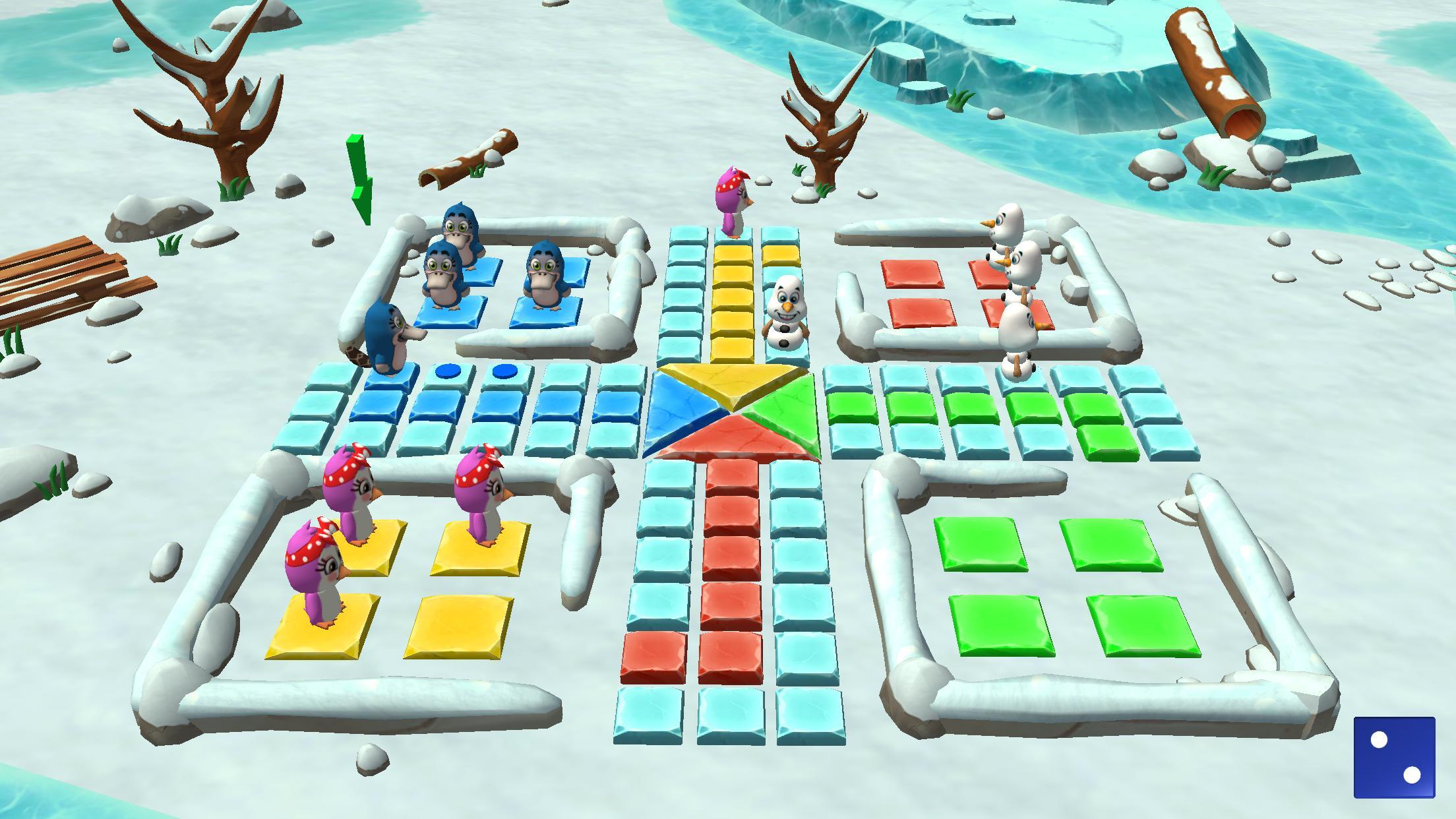 Ludo 3D Multiplayer 2.5 Screenshot 3