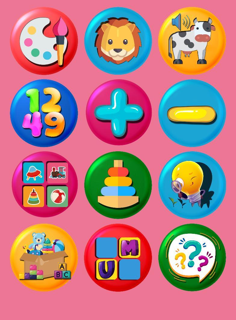 3 and 6 Age Educational Preschool Games 9 Screenshot 1