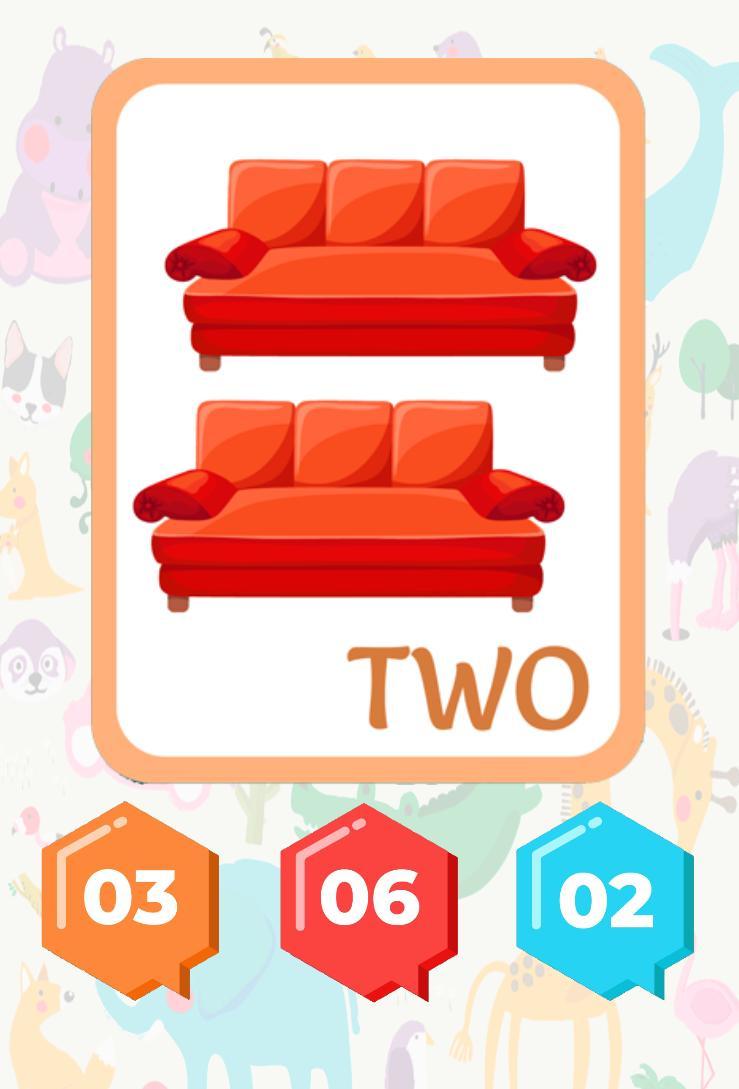 3 and 6 Age Educational Preschool Games 9 Screenshot 10
