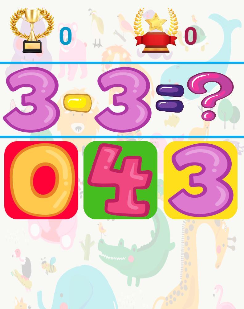 3 and 6 Age Educational Preschool Games 9 Screenshot 12