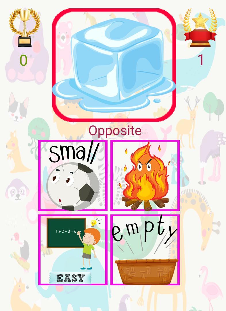 3 and 6 Age Educational Preschool Games 9 Screenshot 2