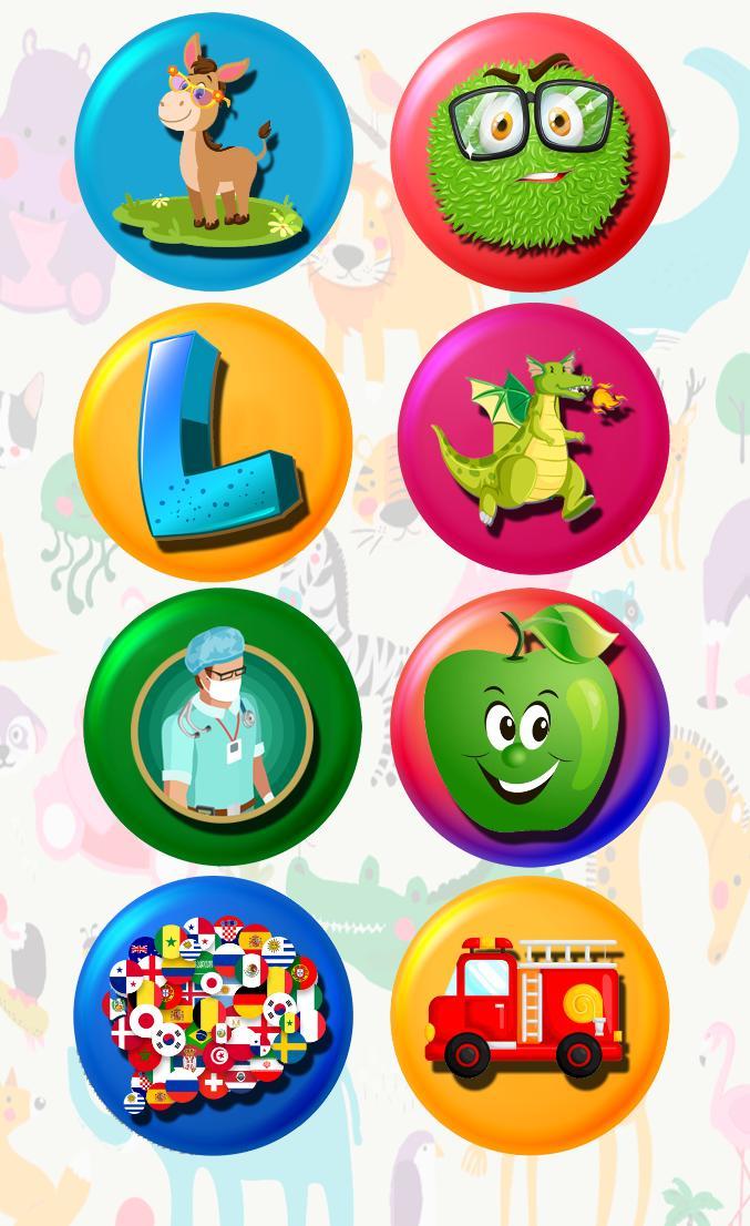 3 and 6 Age Educational Preschool Games 9 Screenshot 23