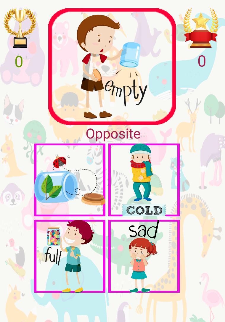 3 and 6 Age Educational Preschool Games 9 Screenshot 4