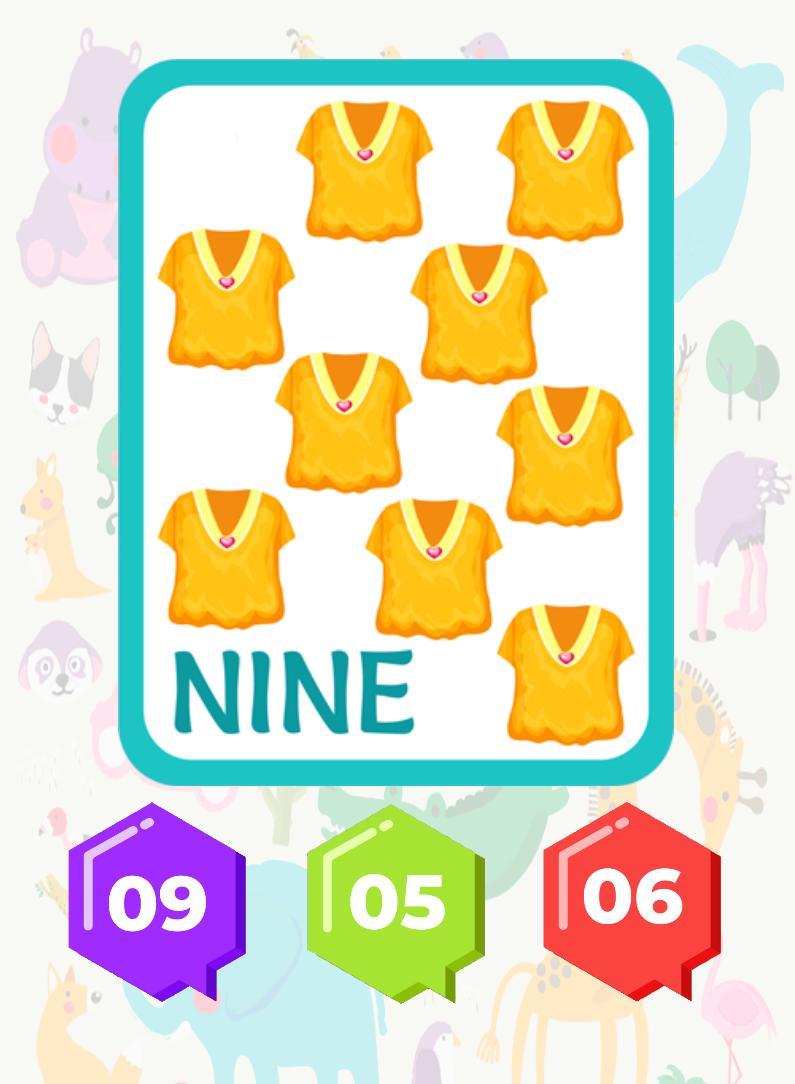 3 and 6 Age Educational Preschool Games 9 Screenshot 5