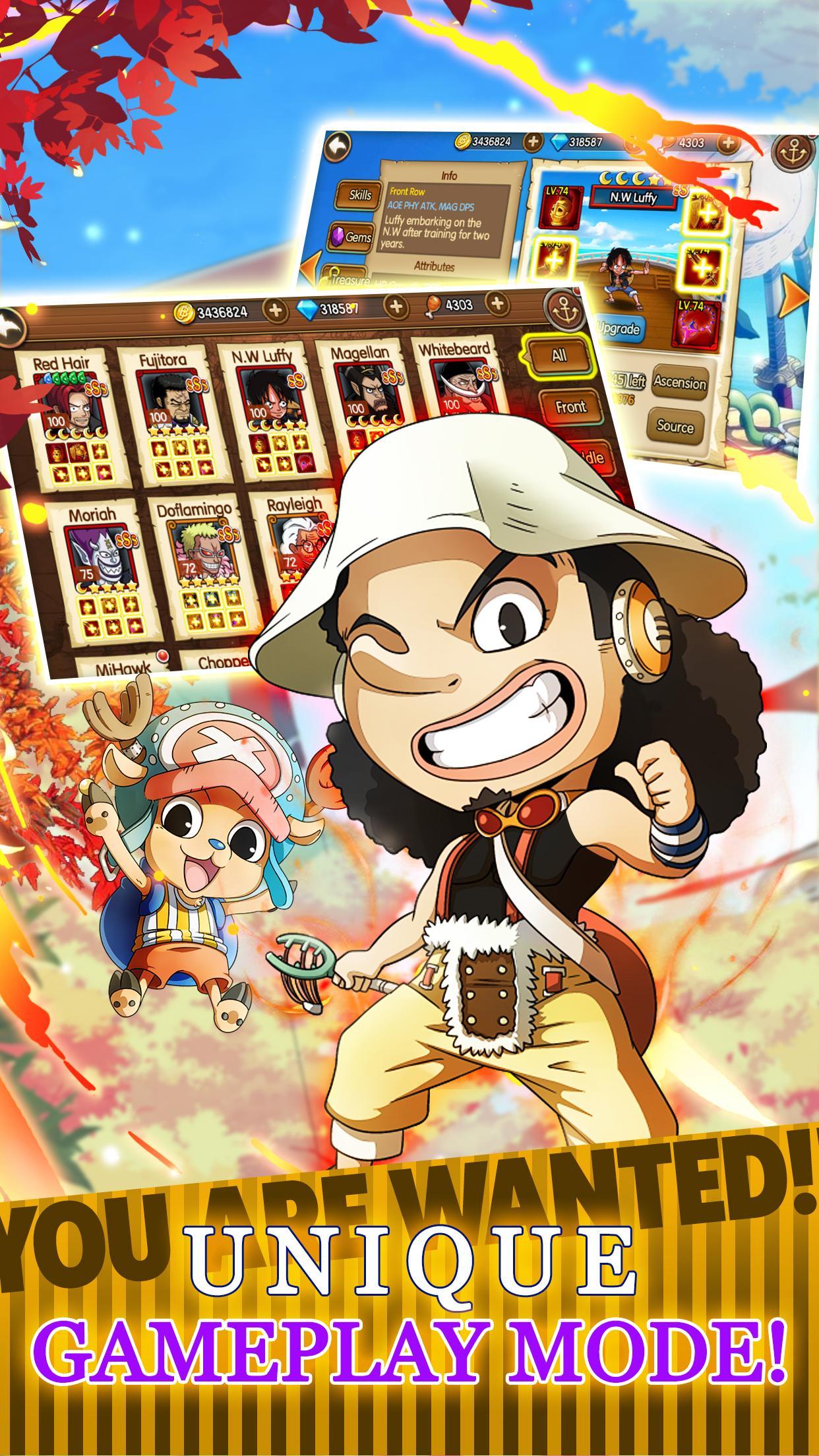 Sunny Pirates Strawhat Luffy Adventure 1.0.0 Screenshot 4