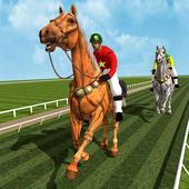 Horse Racing Games 2020: Derby Riding Race 3d app icon