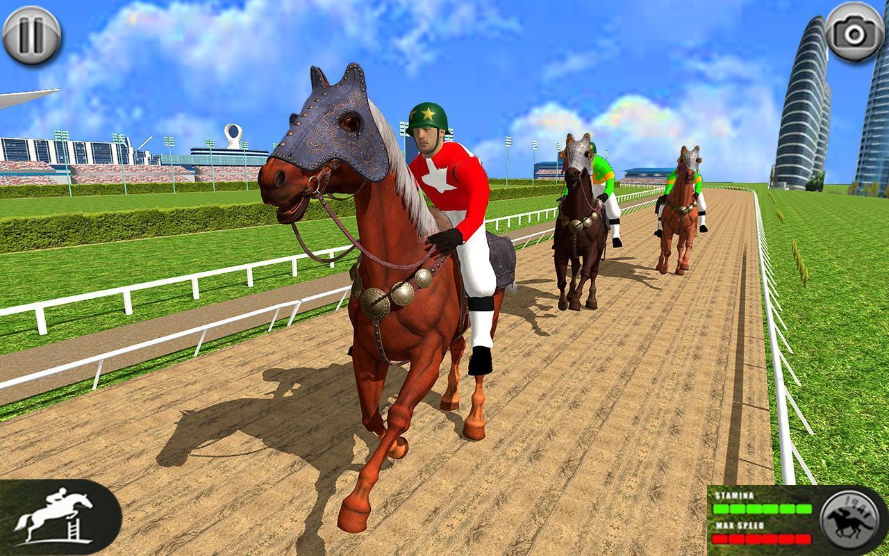 Horse Racing Games 2020: Derby Riding Race 3d 4.1 Screenshot 1
