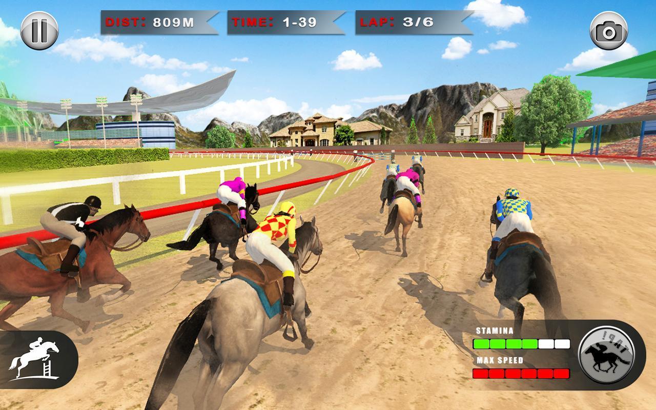 Horse Racing Games 2020: Derby Riding Race 3d 4.1 Screenshot 10