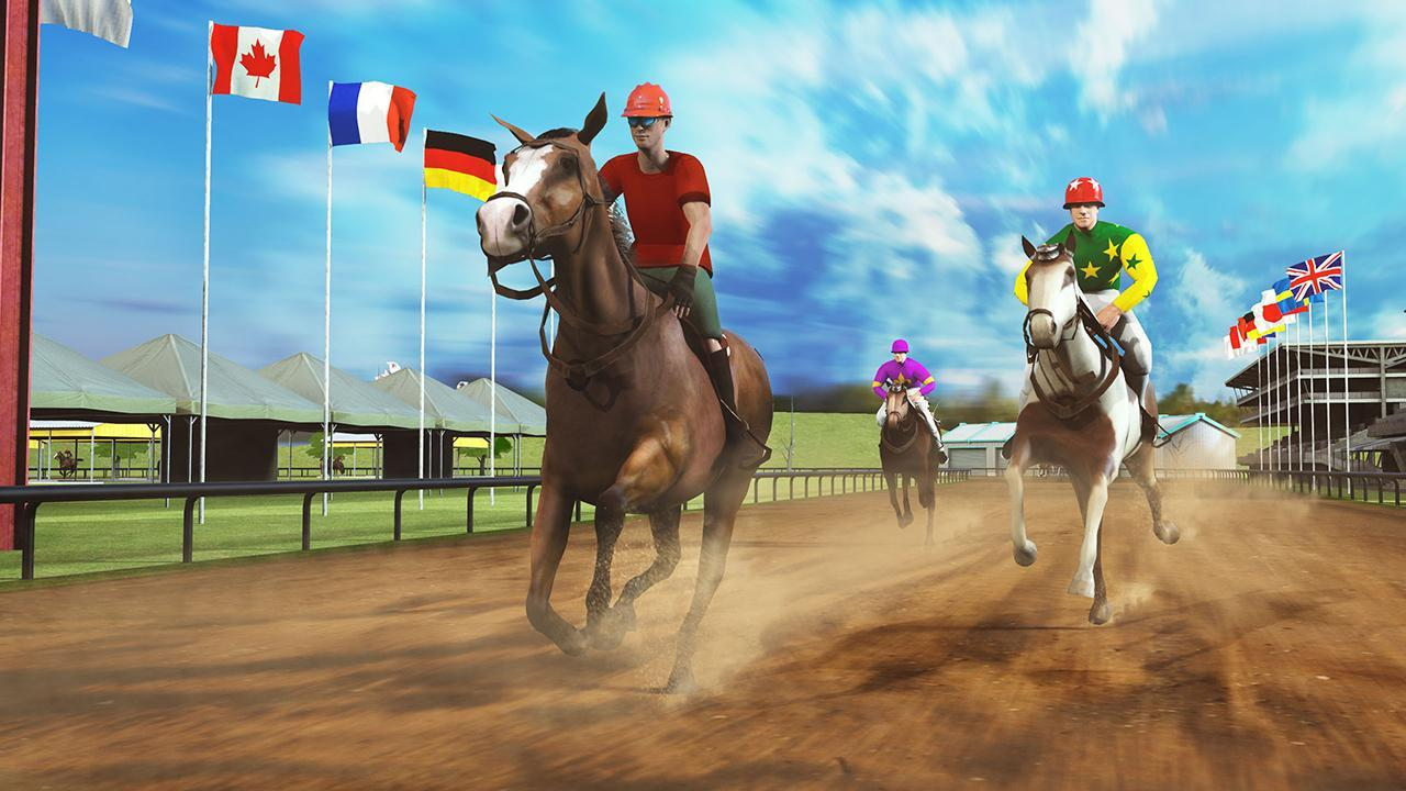 Horse Racing Games 2020: Derby Riding Race 3d 4.1 Screenshot 4
