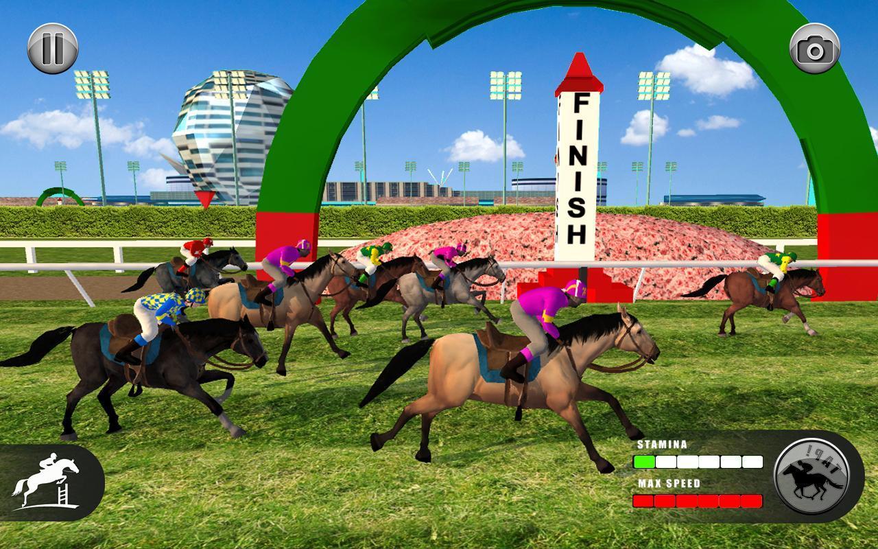 Horse Racing Games 2020: Derby Riding Race 3d 4.1 Screenshot 8